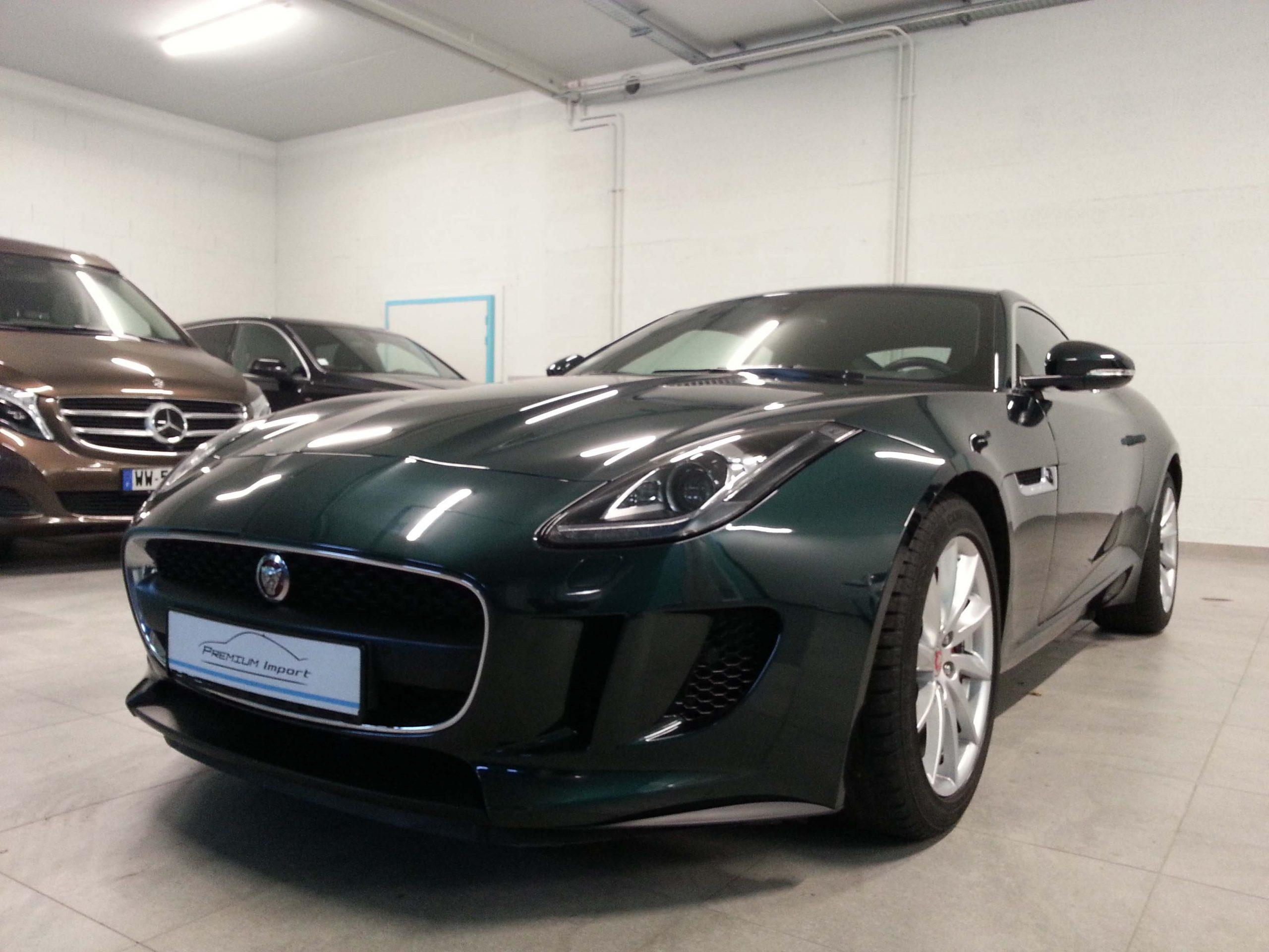 Read more about the article Jaguar F-Type coupé